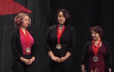 Secuestradas de Cleveland reciben premio por su coraje