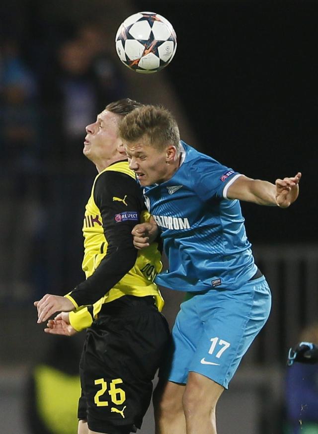 Borussia pasea al Zenit