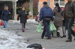 Caídas por nieve aumentan en NYC