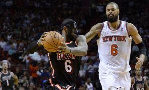 LeBron y el Heat destrozan en Miami a los Knicks