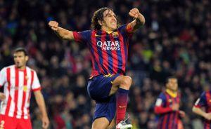 Barcelona golea al Almería y recorta distancia con el Madrid