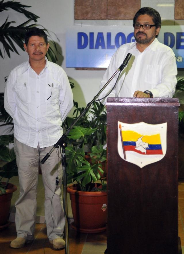 Las FARC quieren continuar diálogos en proceso electoral