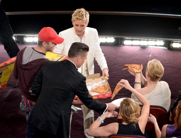 Pizza de las estrellas del Oscar ostenta récord Guinness