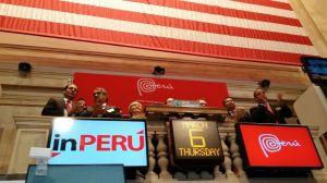 Perú encabeza tradicional campanazo en Wall Street