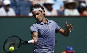 "Federer accede por cuarto año consecutivo a ""octavos"" de Indian Wells"