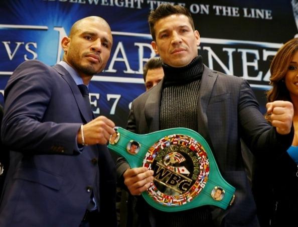Ataques entre Cotto y Martínez en promoción de pelea en NYC