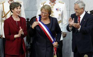 Michelle Bachelet asumió el poder en Chile