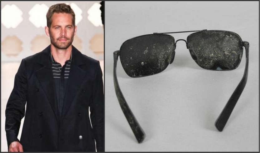 Subastan las gafas con las que murió Paul Walker