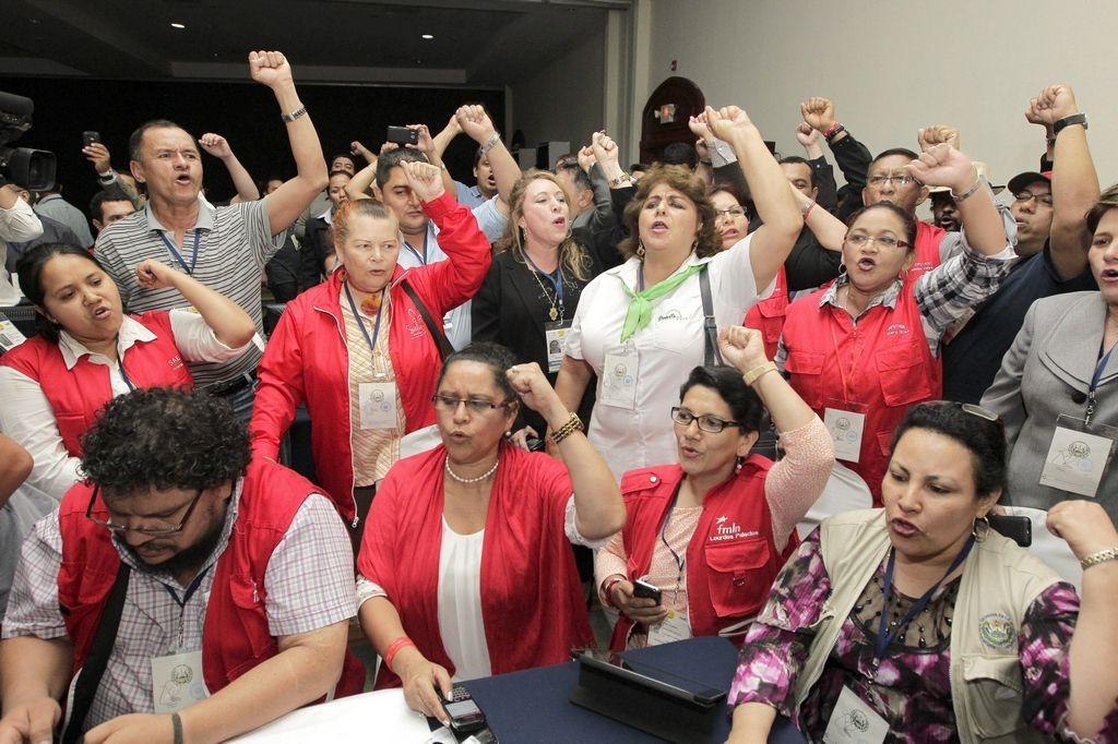 Salvador Sánchez Cerén gana elecciones en El Salvador