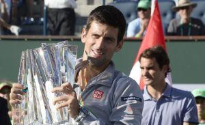 Djokovic vence a Federer y se lleva el torneo de Indian Wells