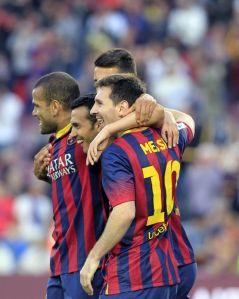 Leo Messi...  ¡Impone marca!