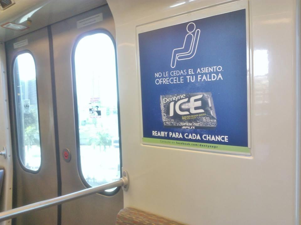 """Puerto Rico no mastica publicidad de """"Dentyne Ice"""""""