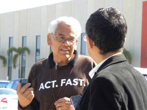 Liberan al activista Eliseo Medina