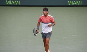 Rafael Nadal avanza cómodamente en el Masters de Miami
