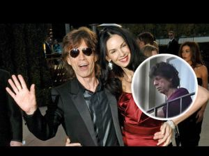 Mick Jagger reaparece tras la muerte de su novia