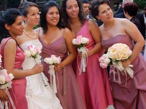 Bridesmaid dresses for every shape