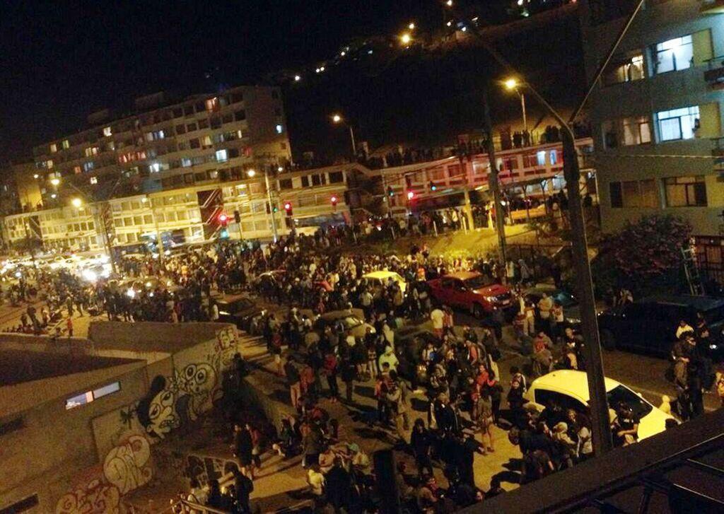 Aumentan a 6 los muertos por sismo en Chile (fotos)