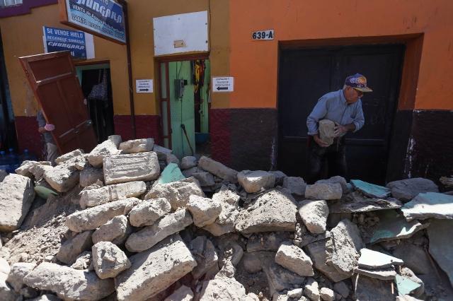 Anuncian inversiones tras terremoto