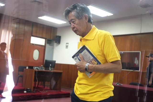 Fujimori recuerda cómo derrotó a Vargas Llosa