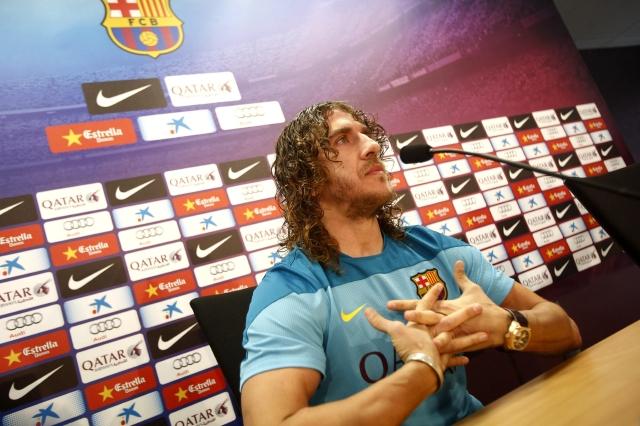 Puyol pide respaldo a la afición