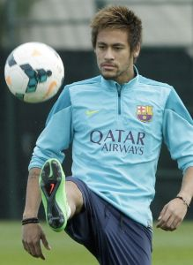 Neymar es baja para el Barça