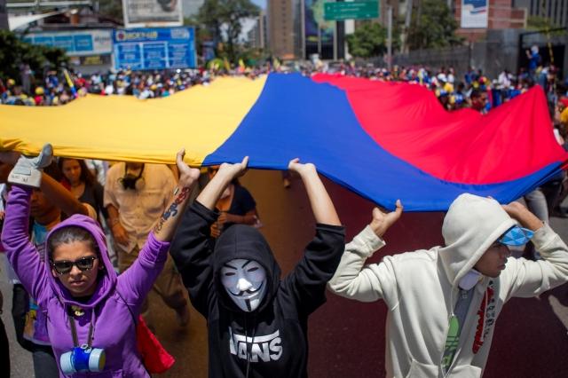 Líderes estudiantiles venezolanos visitan NYC