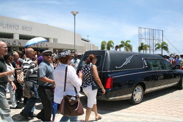 Los restos de Cheo Feliciano reposan en su Ponce natal
