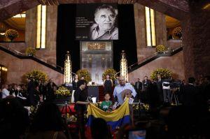Aplausos y vallenato en homenaje a Gabo en México