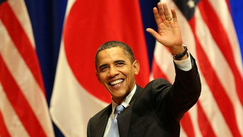 """Obama disfruta del """"santuario del sushi"""" en Japón"""