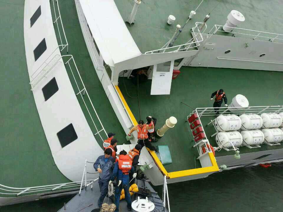 Van 212 muertos por naufragio de ferry en Corea del Sur