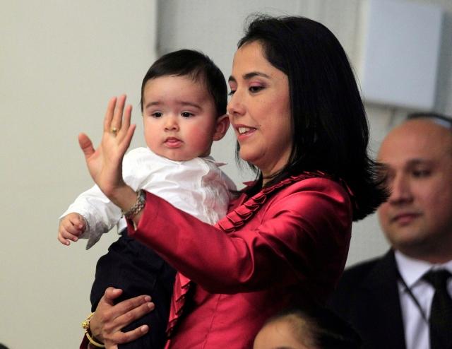 Esposa de Humala bloquea publicación