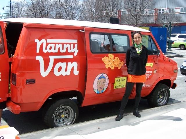 """La """"Nanny Van"""" de los derechos laborales recorre NYC"""