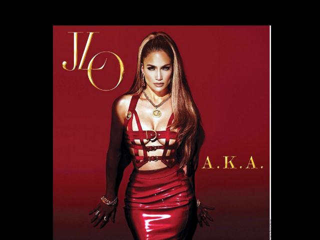 Jennifer López presume portada de su nuevo disco A.K.A.