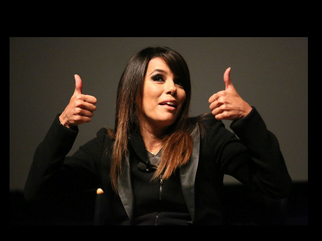 Eva Longoria impulsa a candidatos hispanos