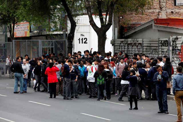 Temblor de magnitud 6.6 sacude a México