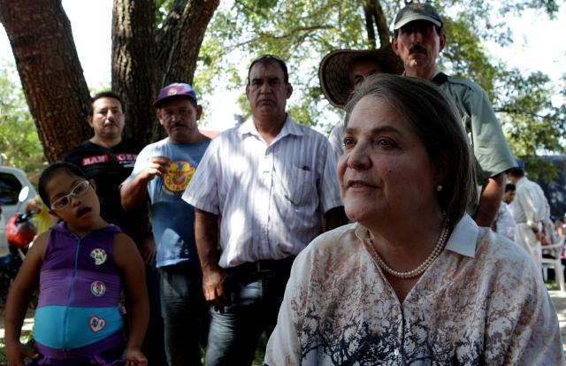 Candidata de la izquierda pide un cese el fuego