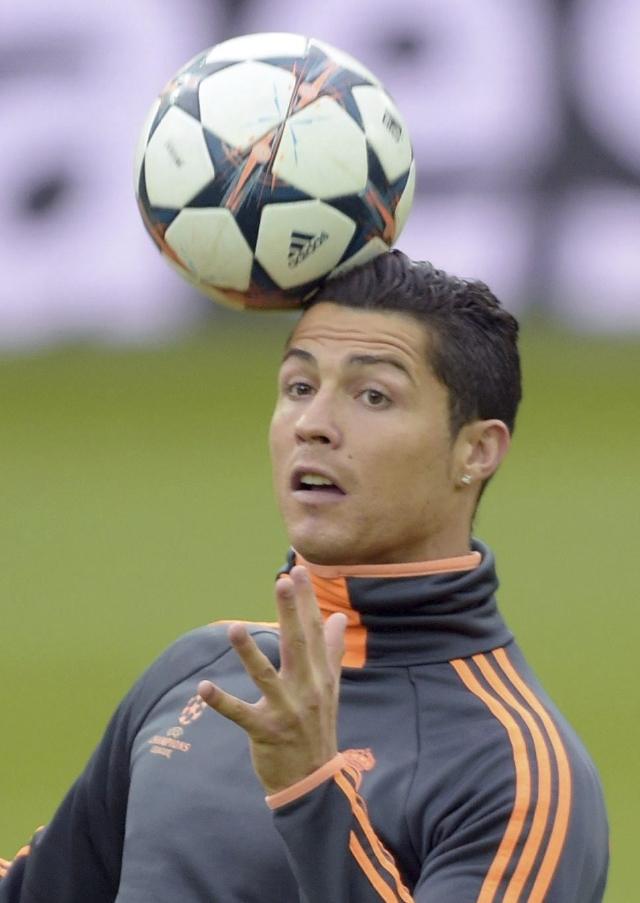 Cristiano Ronaldo le apunta a la Champions
