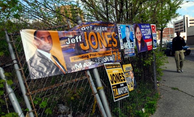 Tres hispanos compiten por la alcaldía en Paterson