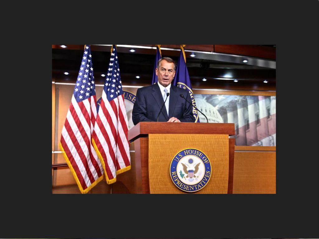 Senadores dan 6 semanas a Boehner para voto por reforma migratoria