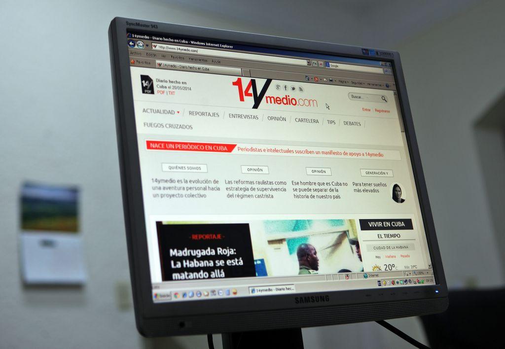 SIP condena censura de Cuba a nuevo diario de Yoani Sánchez