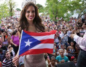 Aleyda Ortiz llega como una 'reina' a Puerto Rico