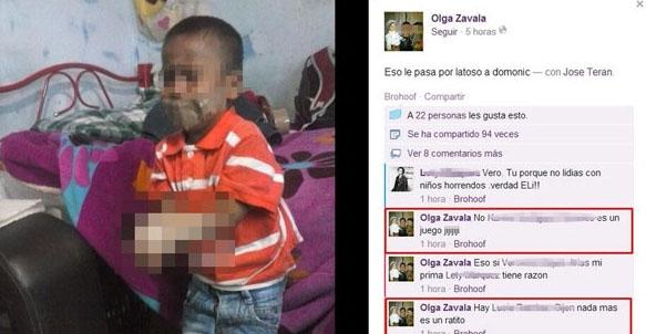 La abuela mexicana que exhibió por Facebook a su nieto amordazado