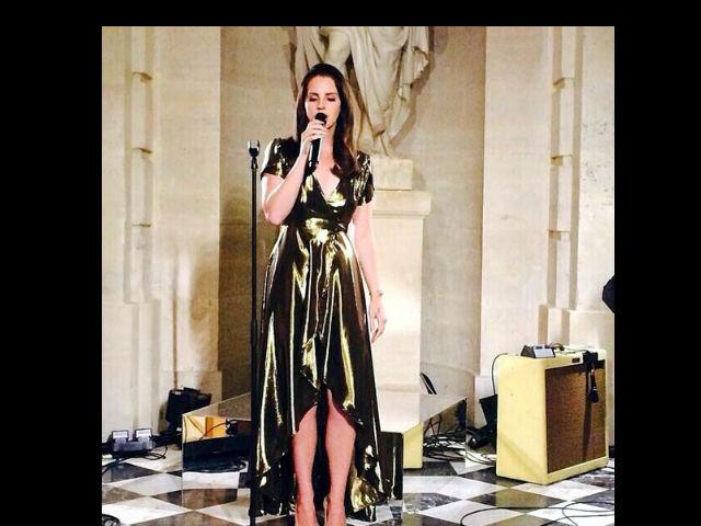 Lana del Rey afirma que no cobró nada en la boda de Kim y Kanye