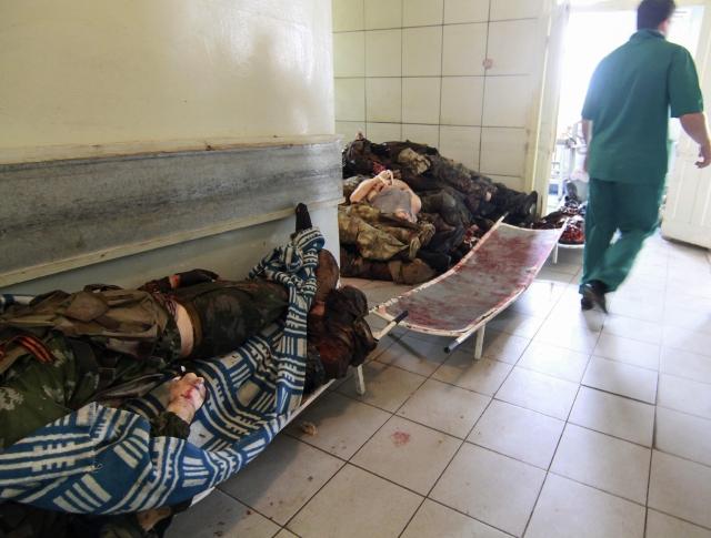 Muertos por combates en Ucrania