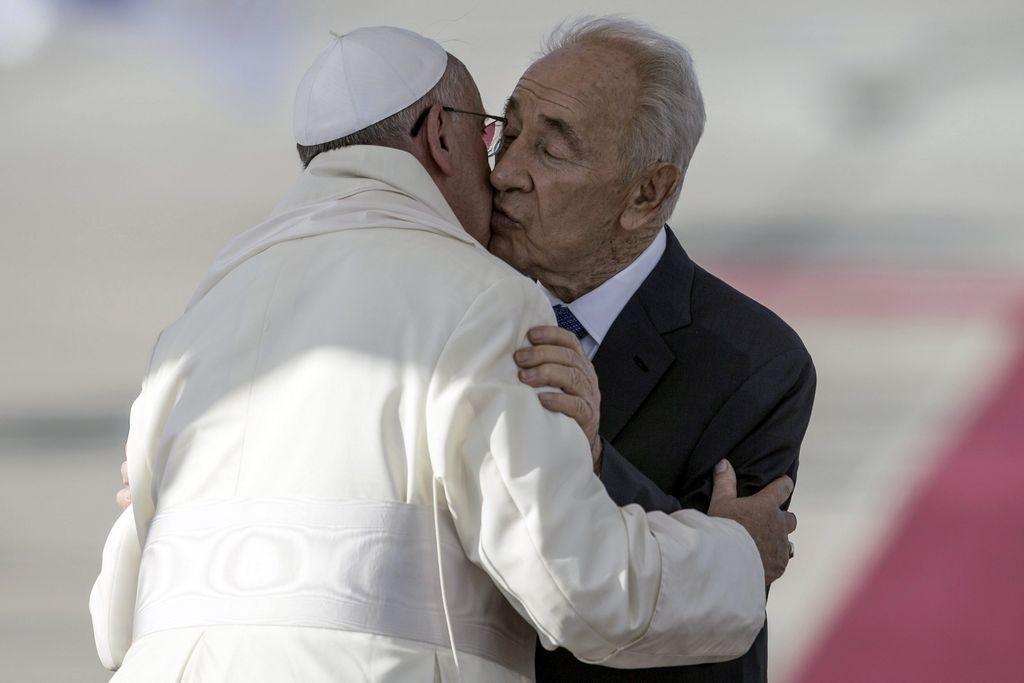 Plegaria del Papa con líderes israelí y palestino el 8 de junio