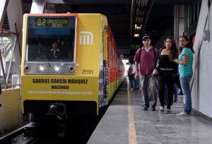 El Metro mexicano rinde homenaje a Gabriel García Márquez