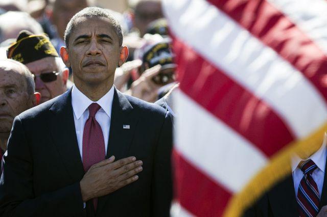 """""""Nuestro grito por la libertad está escrito con sangre"""": Obama"""