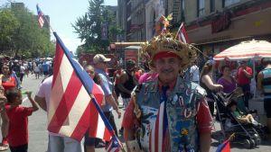 Banderas puertorriqueñas ya cubren Manhattan (fotos)