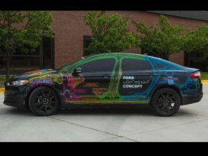 Ford presentó un modelo de vehículo de peso ligero