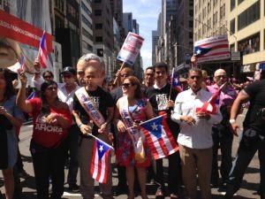 Inició el Desfile Nacional Puertorriqueño 2014 en Manhattan